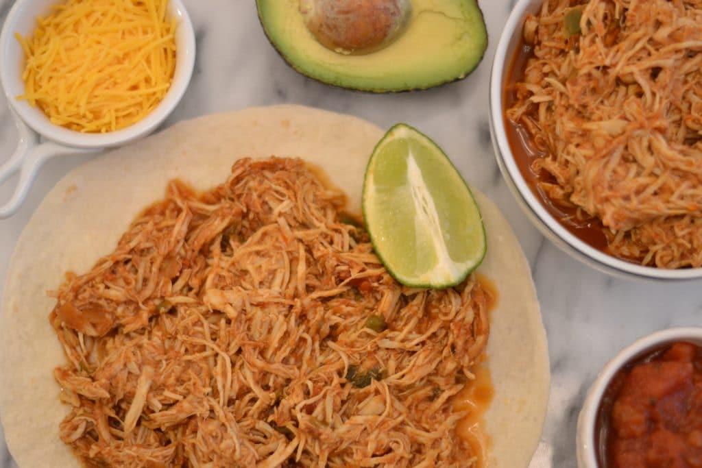 Salsa Chicken Instant Pot Cinco de Mayo Recipes Roundup
