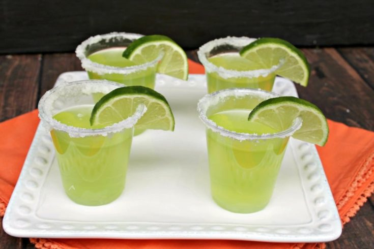Lime Margarita Jello Shots