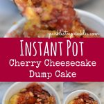 Instant Pot Cherry Cheesecake Dump Cake