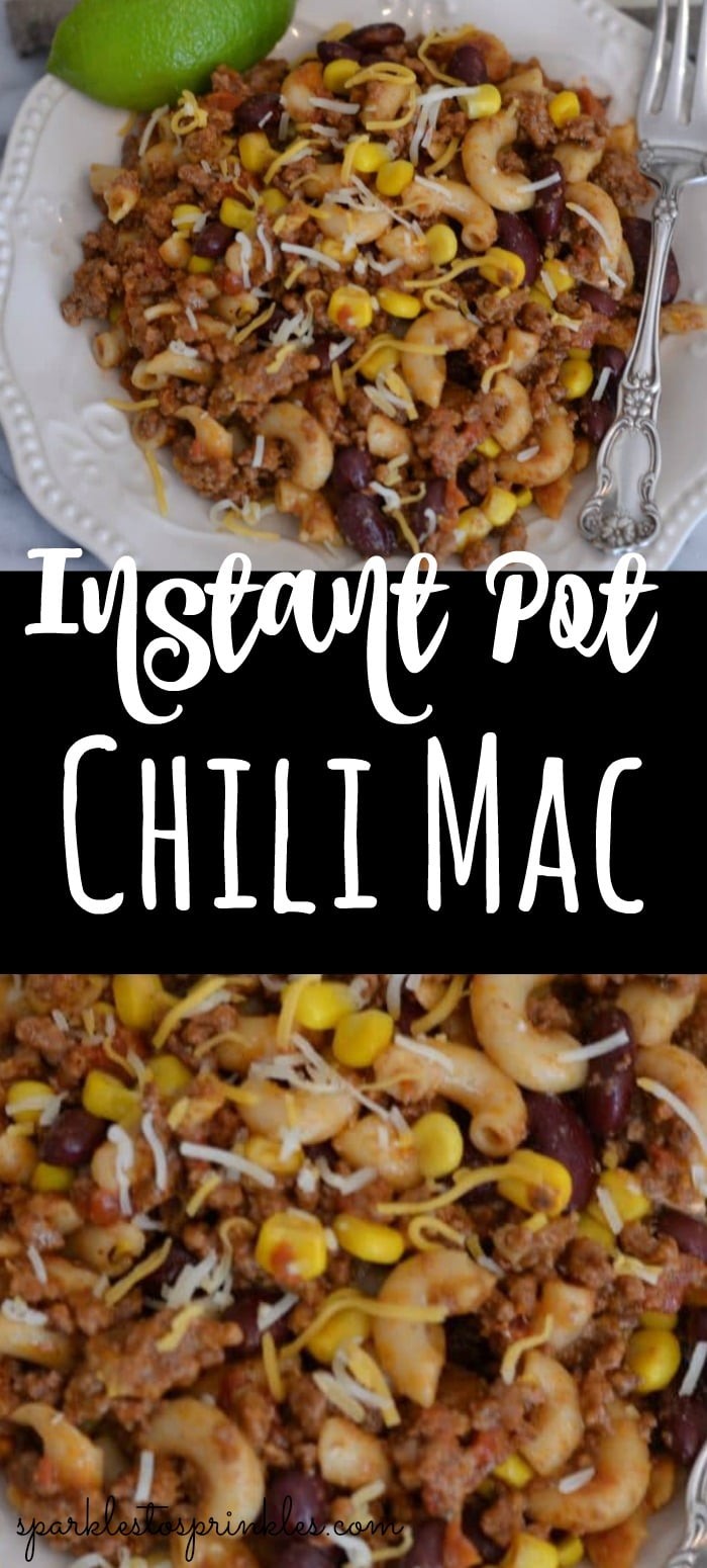 Instant Pot Chili Mac Recipe