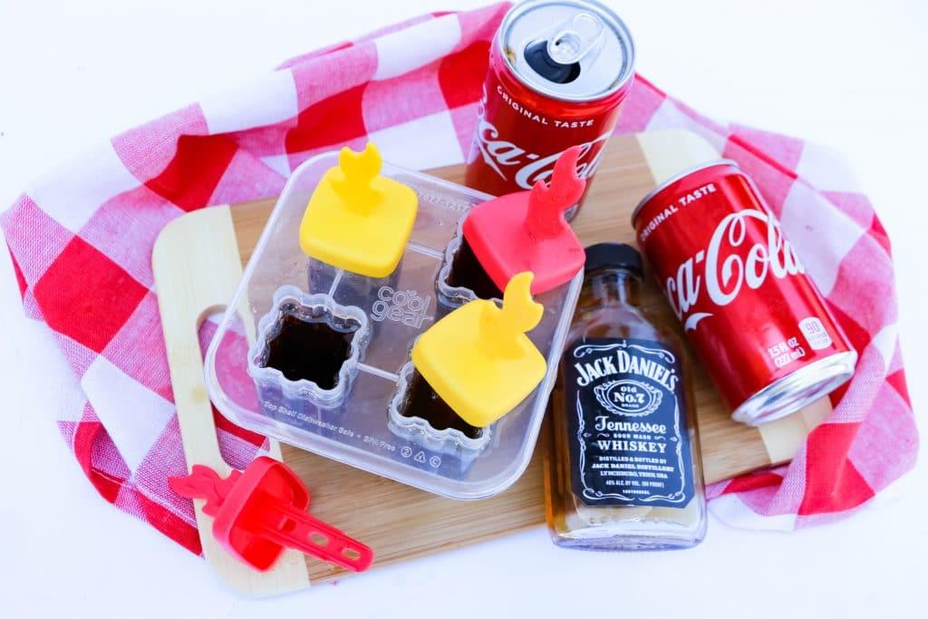 Jack & Coke Popsicles