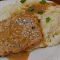 Instant Pot Pork Chops, Gravy & Mashed Potatoes