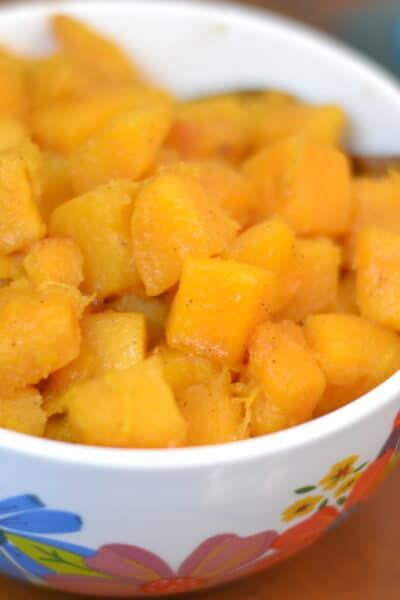Instant Pot Brown Sugar Cinnamon Butternut Squash