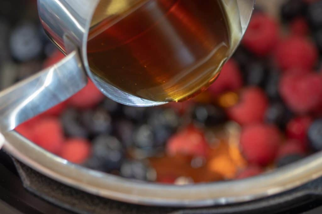 Instant Pot Mixed Berry Compote