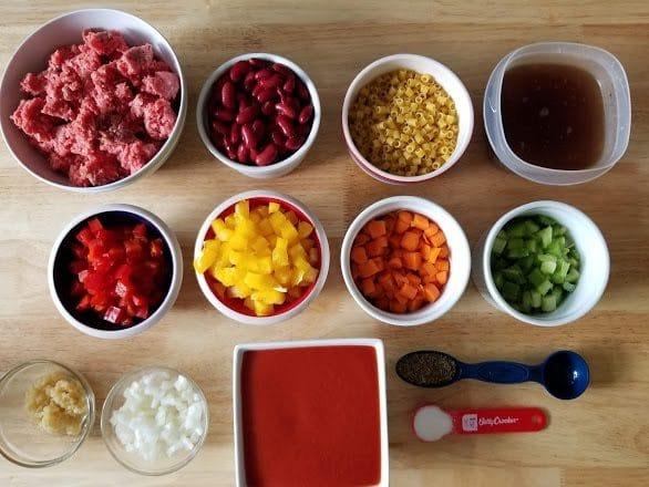 Instant Pot Pasta E Fagioli