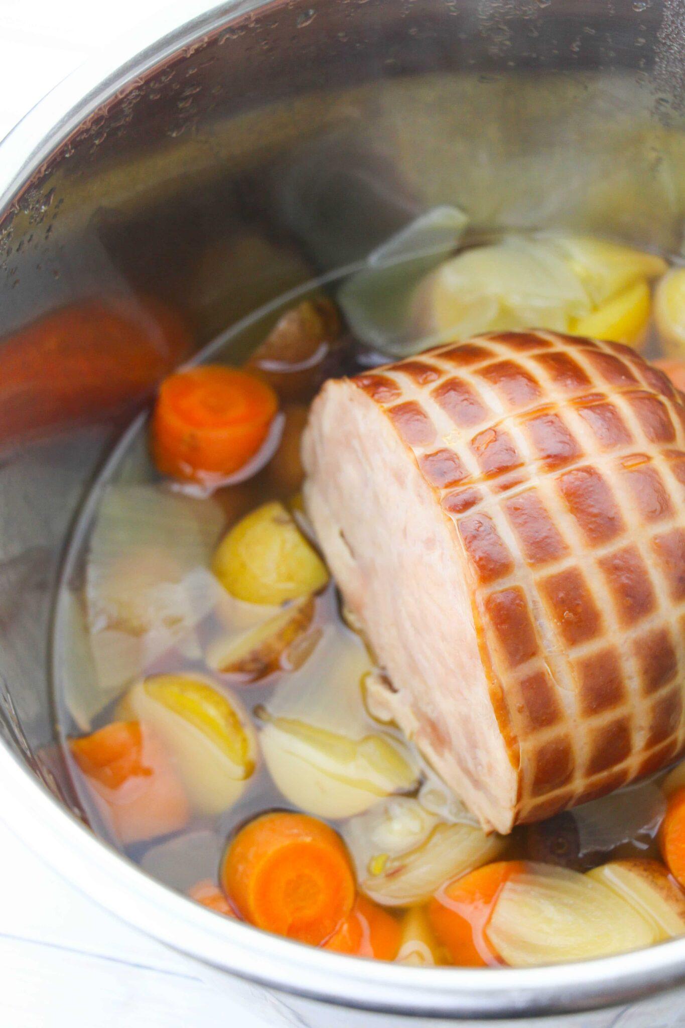 Instant Pot Ham Dinner