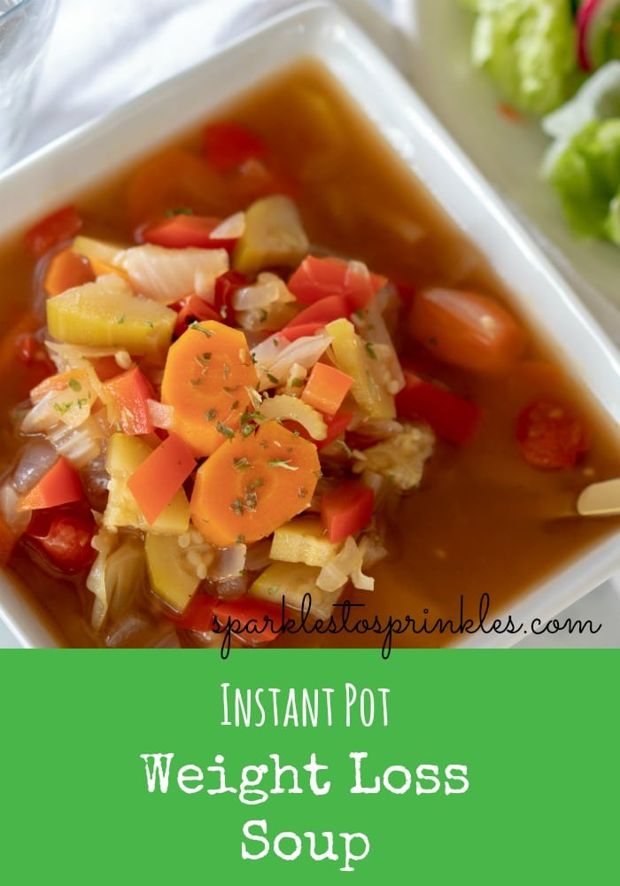 Instant Pot Weight Loss Soup Sparkles To Sprinkles