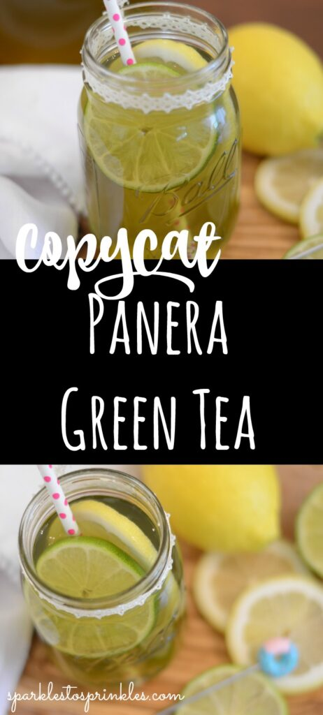 Copycat Panera Green Tea pin