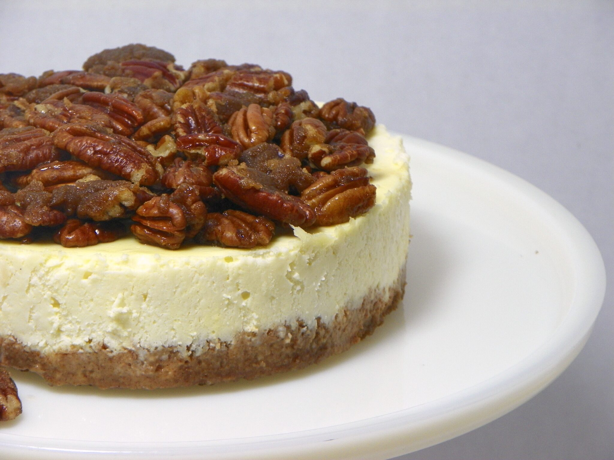 Instant Pot Pecan Pie Cheesecake