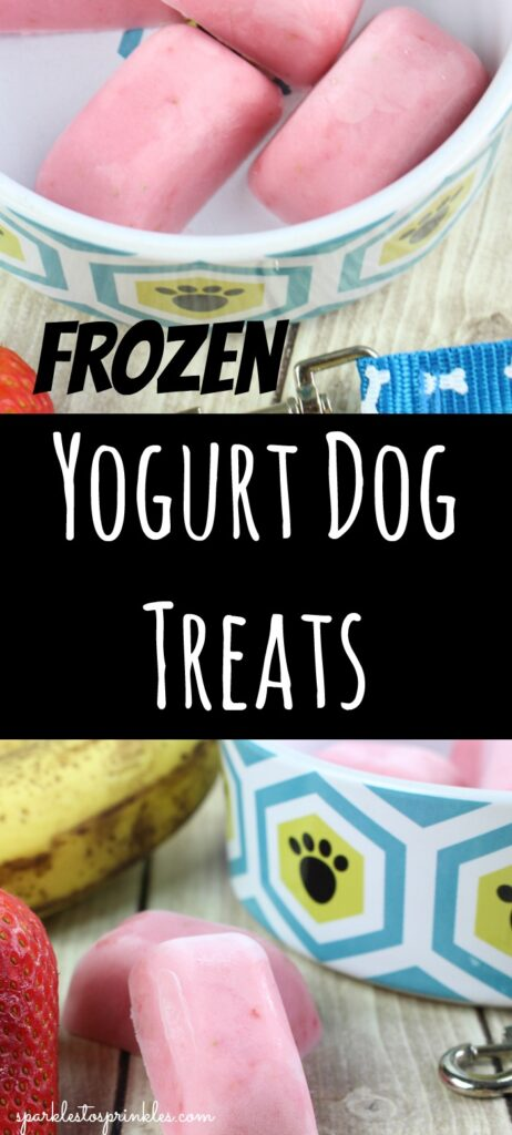 Frozen Yogurt Dog Treats