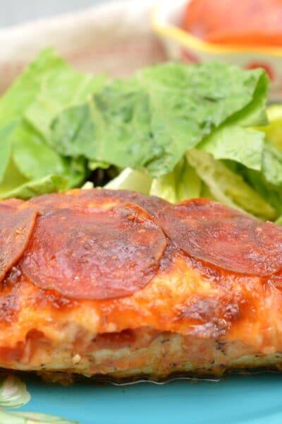 Keto Pizza Chicken