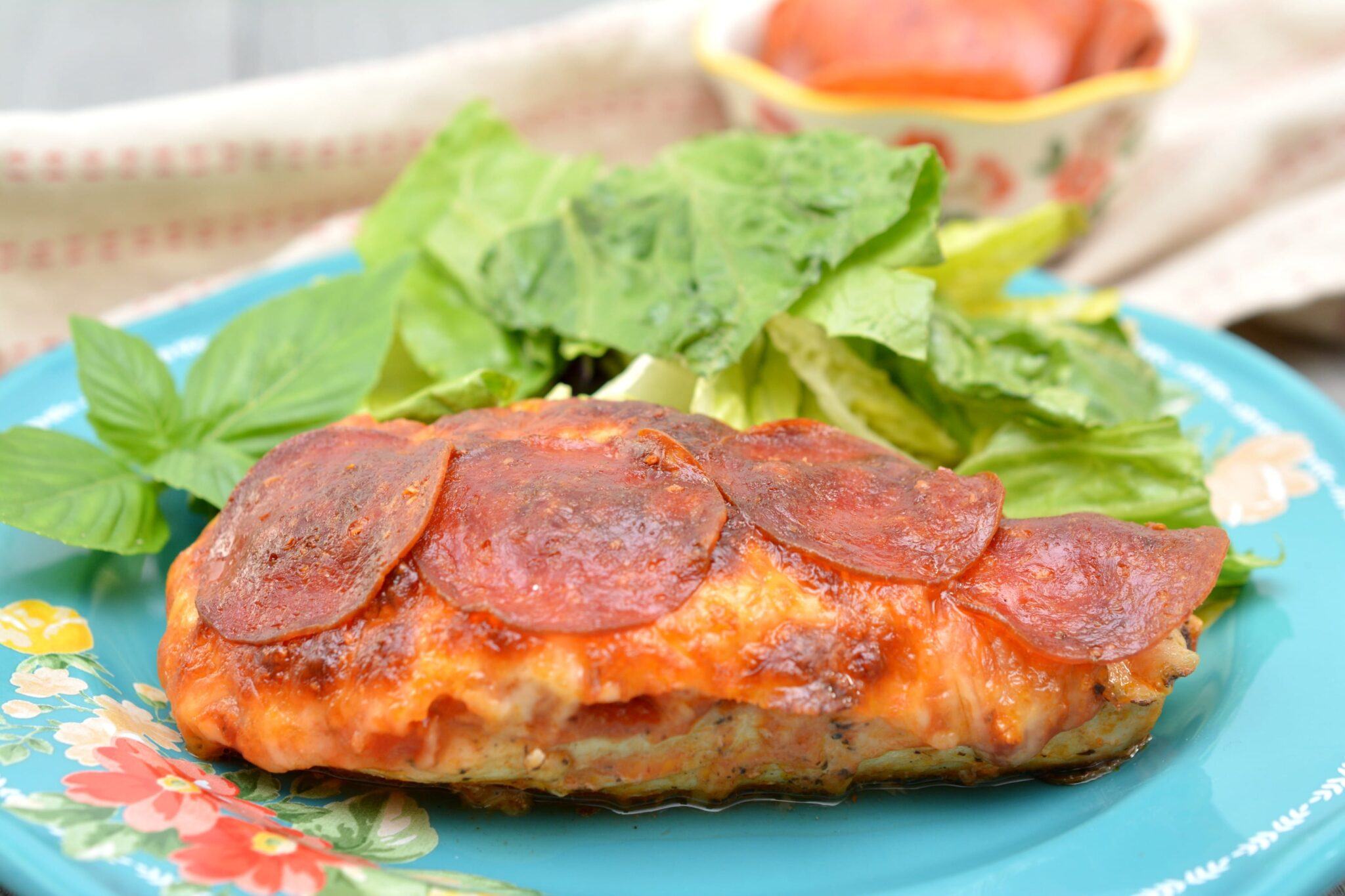 Keto Pizza Chicken