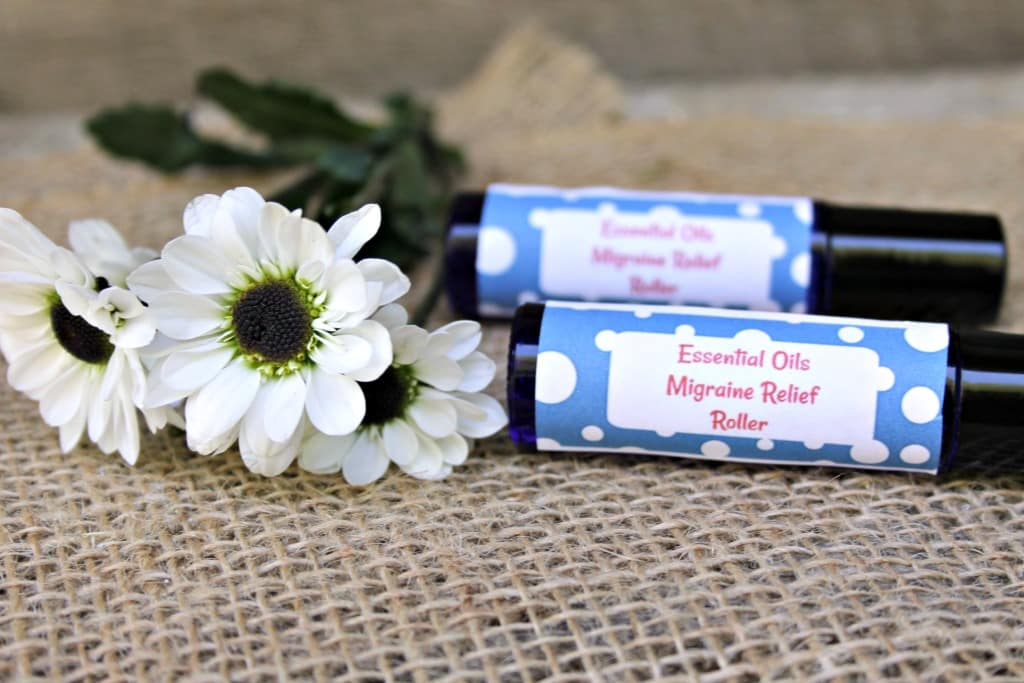DIY Essential Oils Migraine Relief Roller