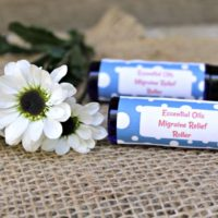 DIY Essential Oils Migraine Relief Roller Recipe
