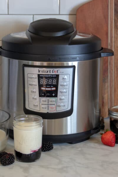 How To Make Instant Pot Yogurt WITHOUT The Yogurt Button