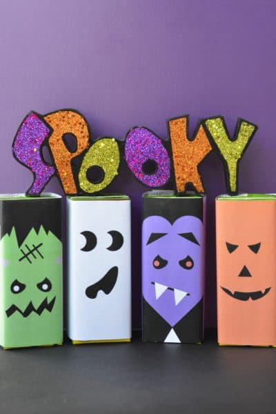 Halloween Juice Box Printables