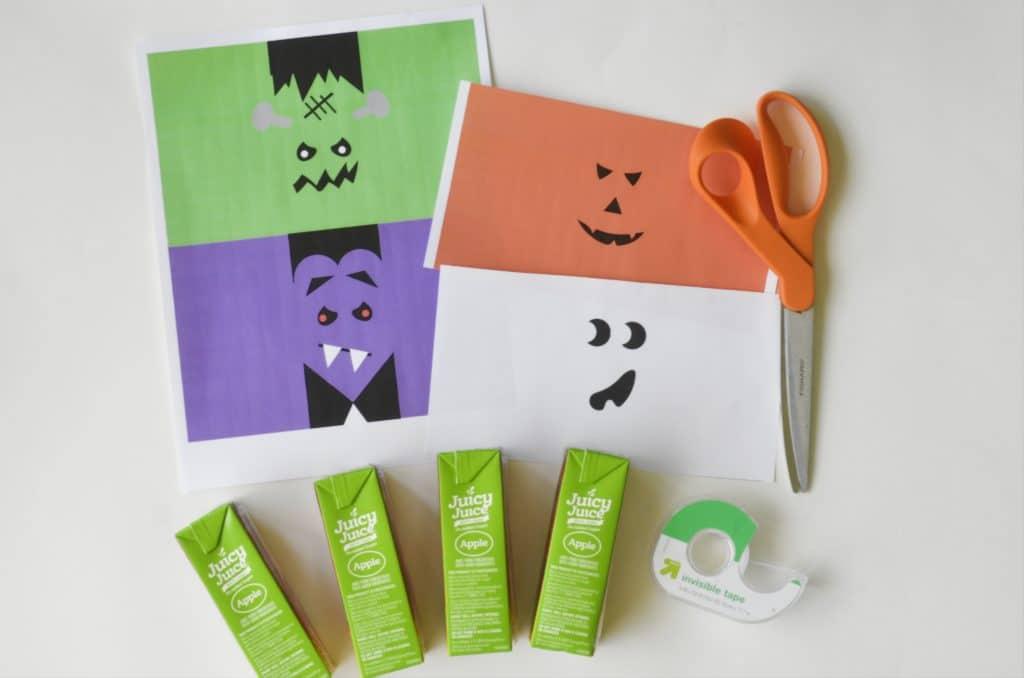 Halloween Juice Box Printables