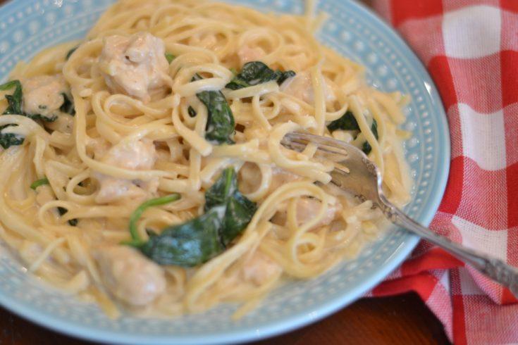 Instant Pot Chicken Florentine Pasta