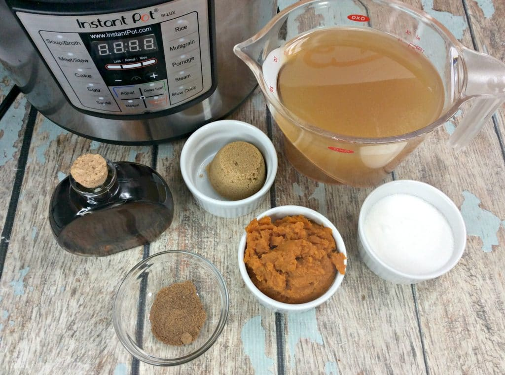 Instant Pot Pumpkin Spiced Bourbon
