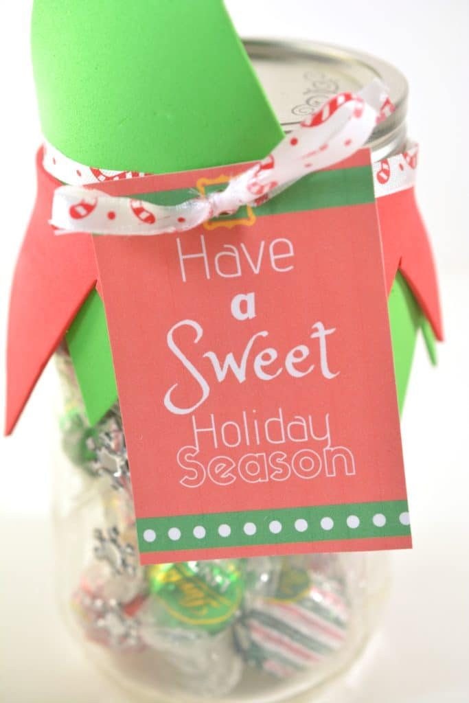 Elf Candy Jar Gift