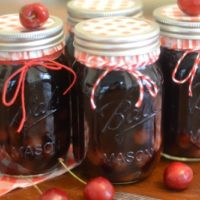 Instant Pot Cherry Pie Moonshine