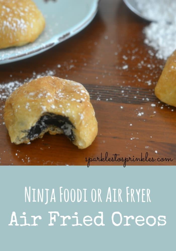 Ninja Foodi or Air Fryer Fried Oreos