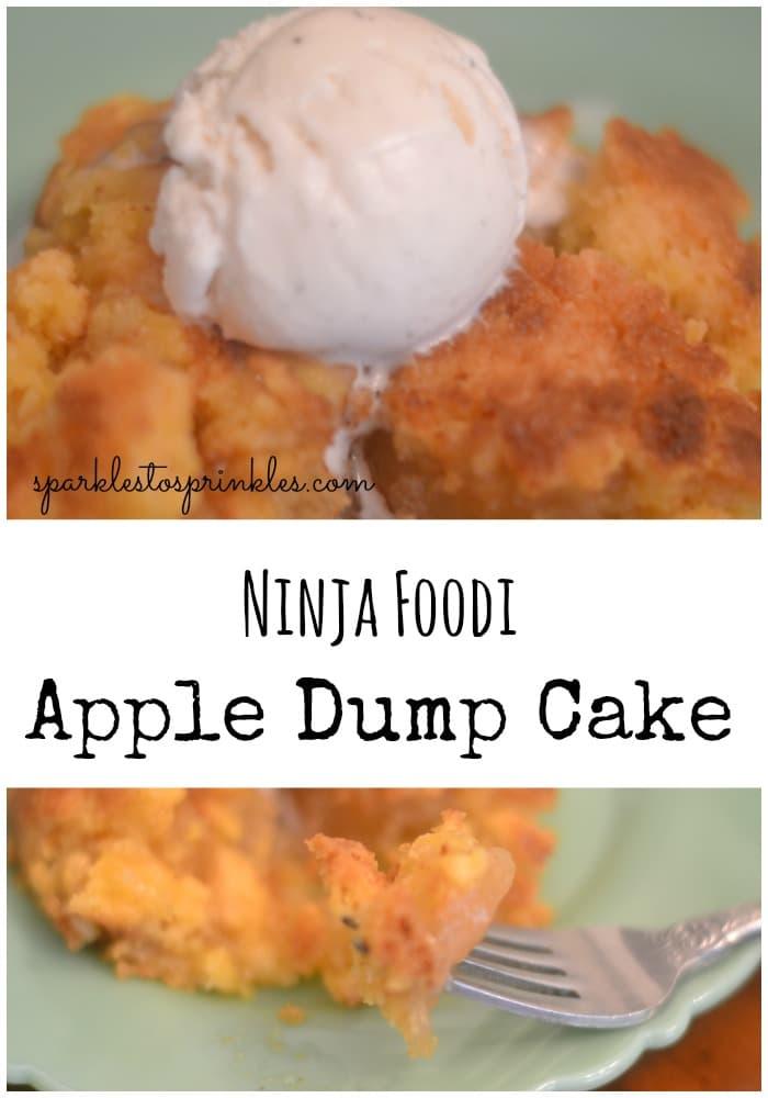 Ninja Foodi Apple Dump Cake