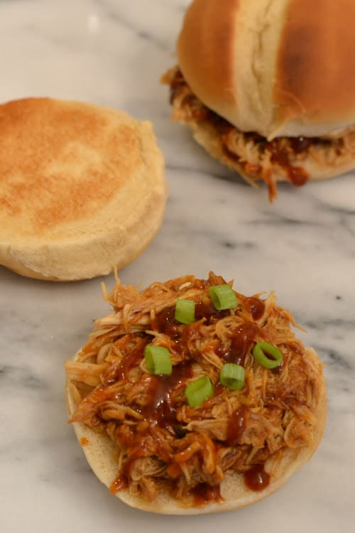 Instant Pot Bbq Shredded Chicken Sparkles To Sprinkles