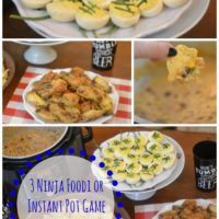 3 Ninja Foodi or Instant Pot Game Day Appetizers