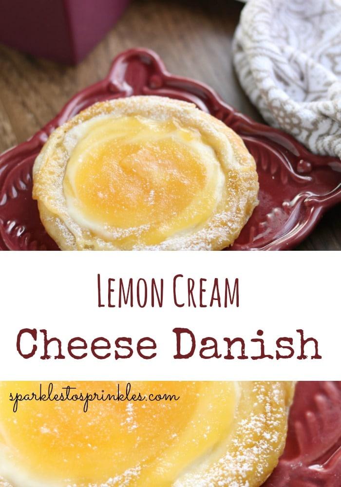 Lemon Cream Cheese Danish