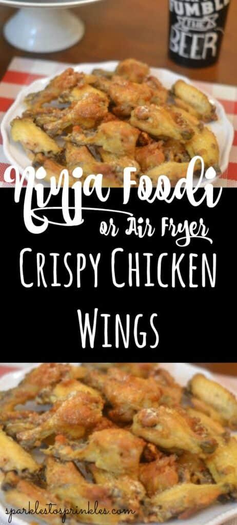 Ninja Foodi or Air Fryer Crispy Chicken Wings