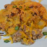 Instant Pot or Ninja Foodi Cheesy Beef and Potatoes
