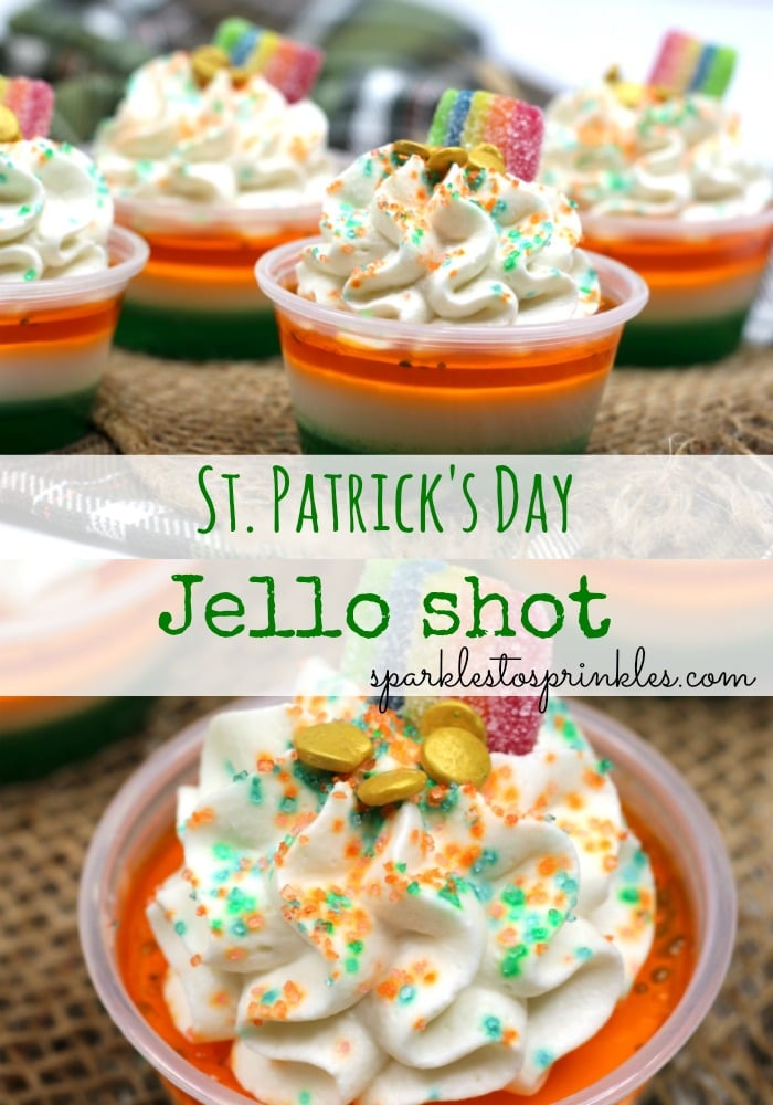 St. Patrick's Day Jello Shots