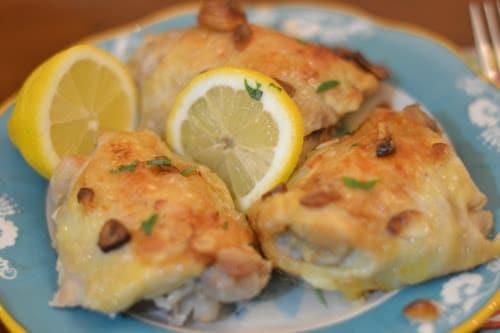 Ninja Foodi Spanish Garlic Chicken
