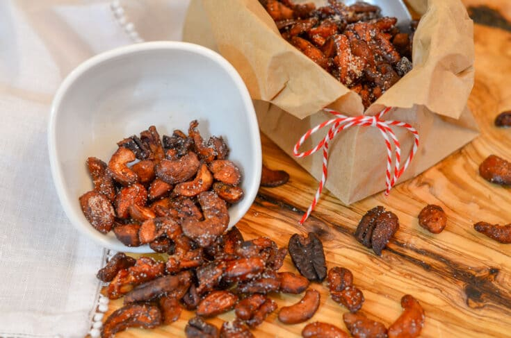 Instant Pot Candied Nuts