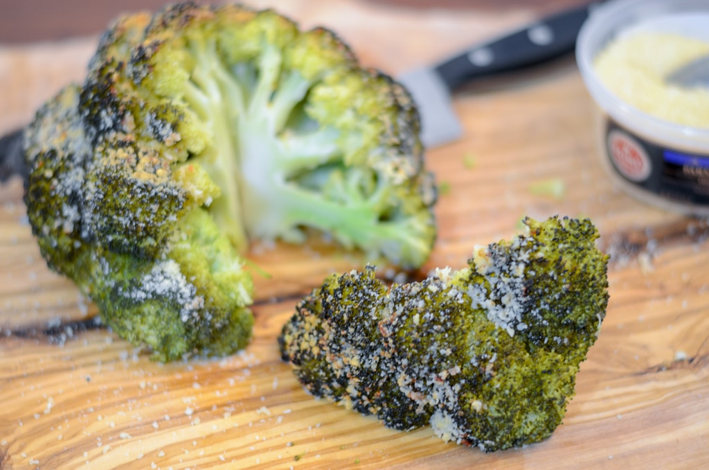 Instant Pot Italian Parmesan Whole Roasted Broccoli