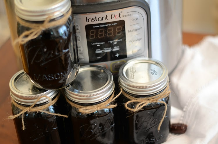 Instant Pot Root Beer Moonshine