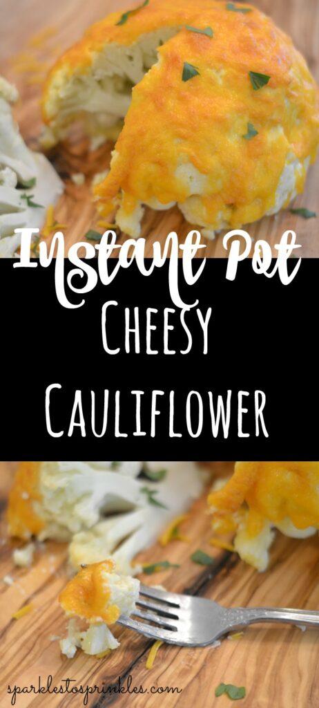 instant pot cheesy cauliflower
