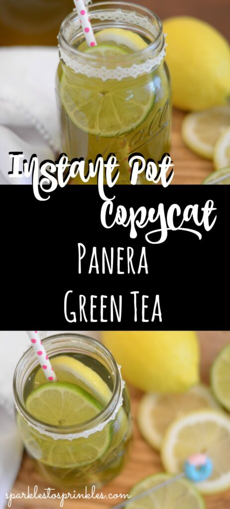 Instant Pot Copycat Panera Green Tea