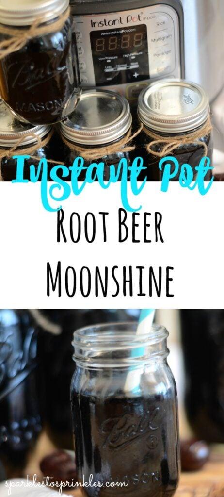 instant pot root beer moonshine