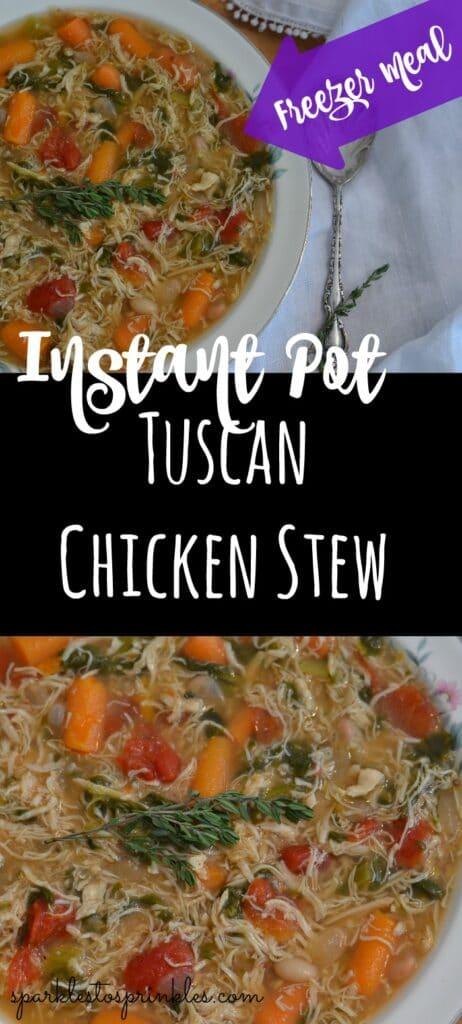 Instant Pot Tuscan Chicken Stew