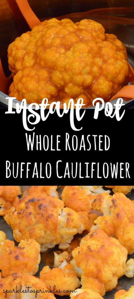 Instant Pot Whole Roasted Buffalo Cauliflower