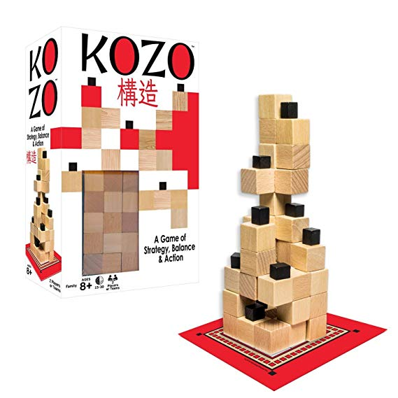 Winning Moves Games 1223 Kozo, Wood Grain