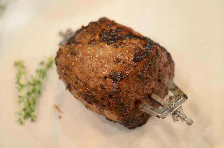 Instant Vortex Plus Rotisserie Roast Beef