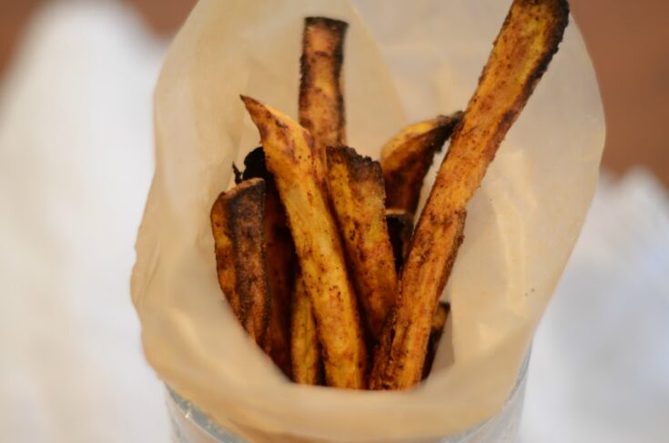 Instant Vortex Plus Omni Air Fryer Sweet Potato Fries