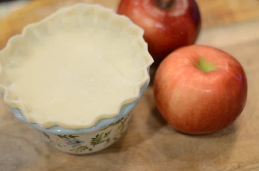 Instant Vortex Plus Air Fryer Ramekin Apple Pies