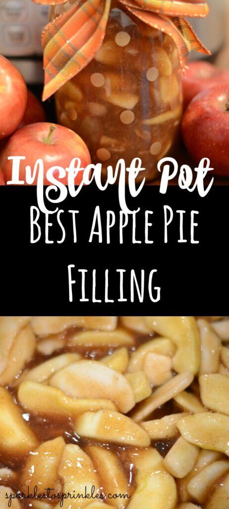 Instant Pot Best Apple Pie Filling
