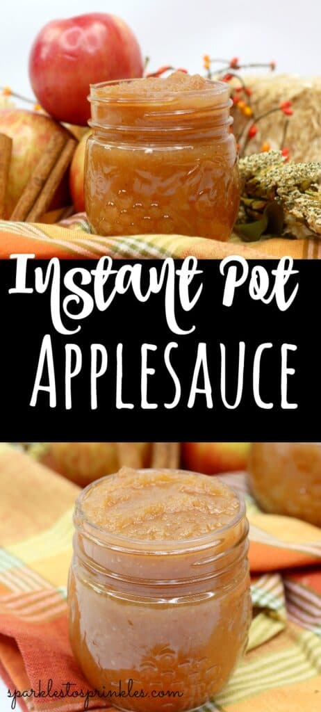 Instant Pot Applesauce