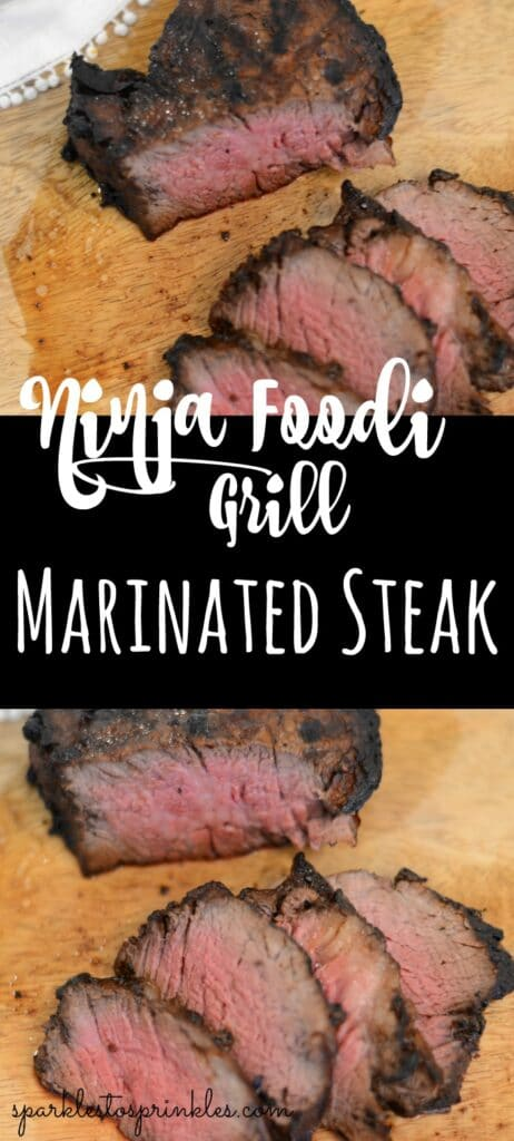 Ninja Foodi Grill Marinated Steak