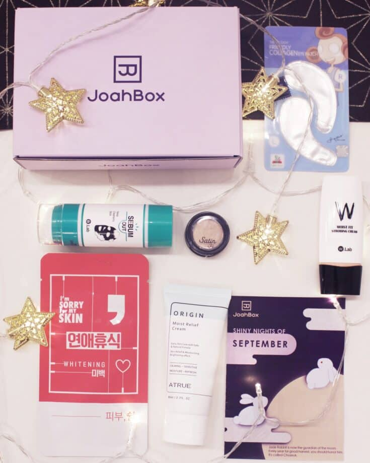 Korean Beauty Box | Korean Skincare and Makeup in a Box| Joahbox
